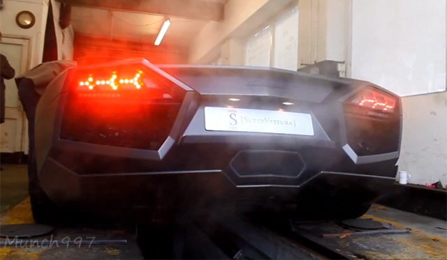 Video: Lamborghini Reventon Revving in the UK