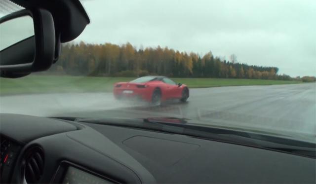 Video: 4 Races Between Ferrari 458 Italia and Nissan GT-R