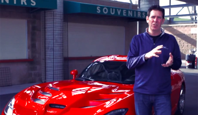 Video: Go Behind the Design of the 2013 SRT Viper