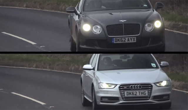 Video: Chris Harris Dissect's Bentley Continental GT and Audi S4