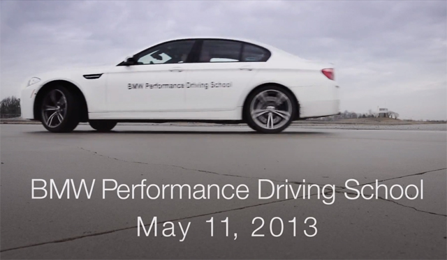 Video: BMW Planning 40 Mile BMW M5 Drift World Record