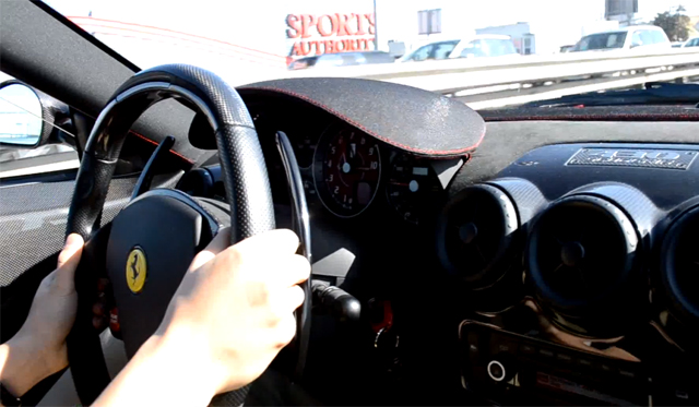 Video: Awesome Accelerations Inside a Ferrari 430 Scuderia