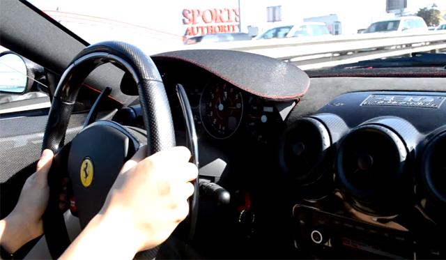 Video: Awesome Accelerations Inside a Ferrari 430 Scuderia