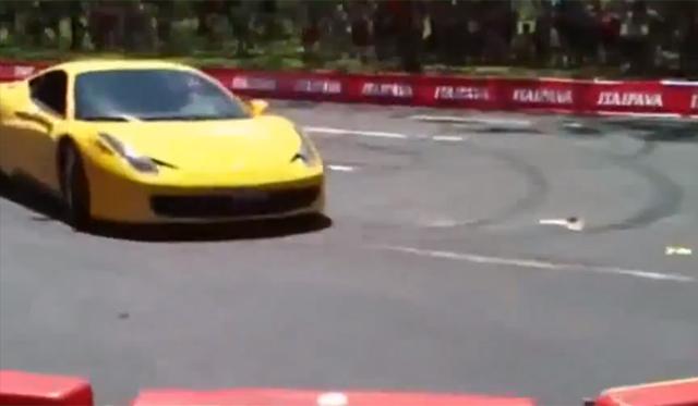 Video: Ferrari 458 Italia Crashes in Brazil Injuring Three