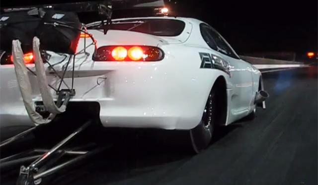Video Toyota Supra By Titan Motorsports And Ekanoo Racing Becomes