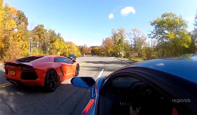 Video: Epic Lamborghini Aventador Cross-Country Trip
