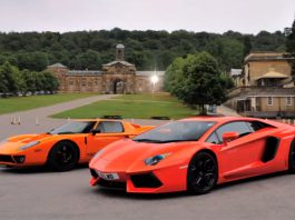 Video: Lamborghini Aventador vs Ford GT 720 Mirage