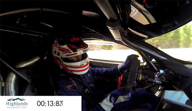 Video: McLaren MP4-12C GT3 Destroying New Zealand Track Record