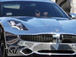 Little Twist Crashes Justin Bieber's Chrome Fisker Karma