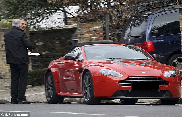 Daniel Craig Gets Aston V12 Vantage Roadster for 45th Birthday