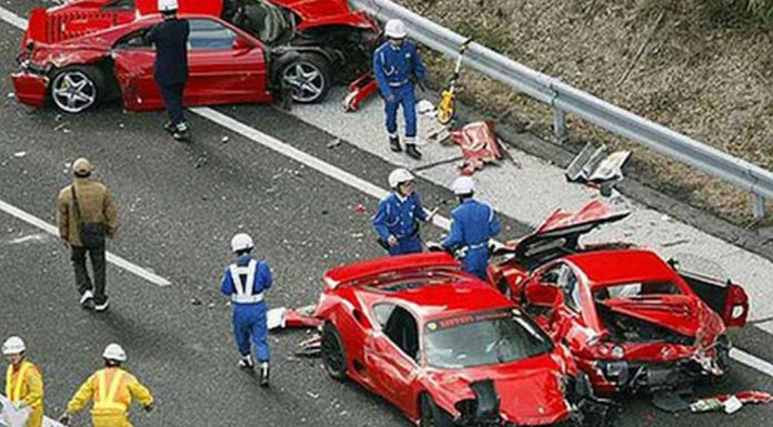 10 Drivers to be Prosecuted Over Devastating 2011 Supercar Pile-up in Japan