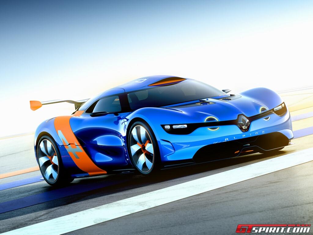 Progress of Alpine-Caterham sports cars Advancing