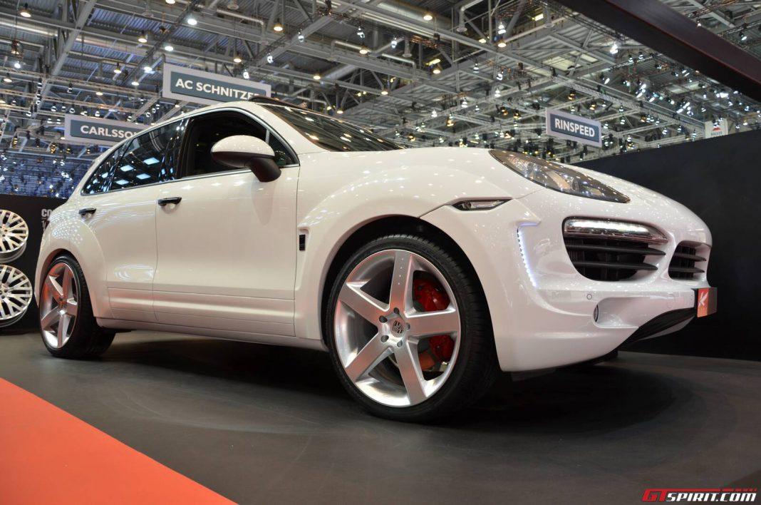 Kahn Design Porsche Cayenne Super Sports