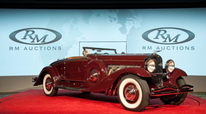 1935 Duesenberg Model SJ Convertible Sells for $4.51 Million at Amelia Island Concours