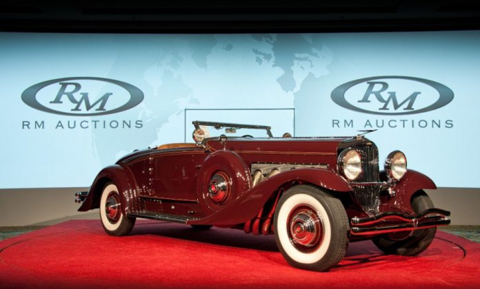 1935 Duesenberg Model SJ Convertible Sells for $4.51 Million at Amelia Island Concours