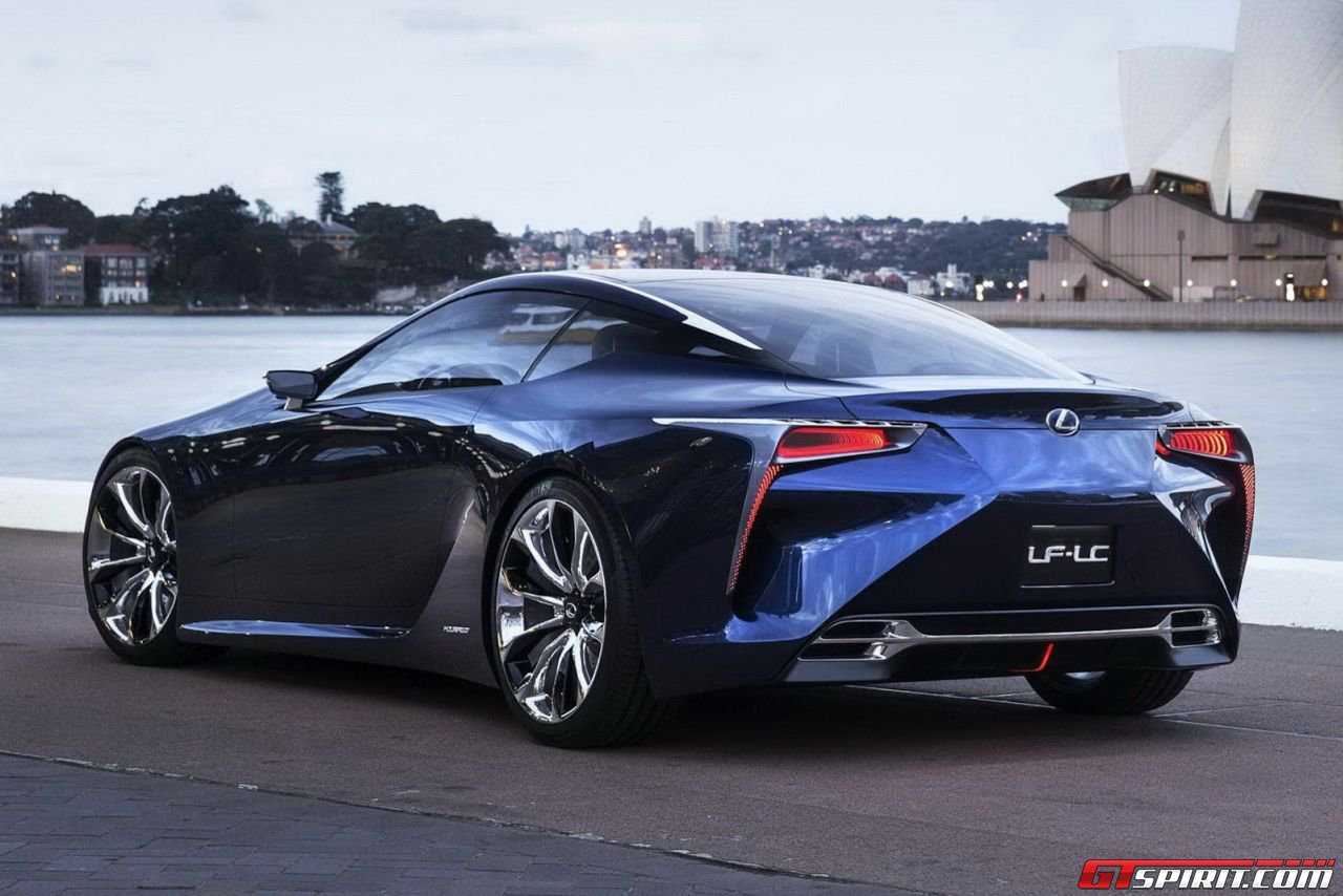 Lexus LF-LC Concept Confirmed for Production - GTspirit