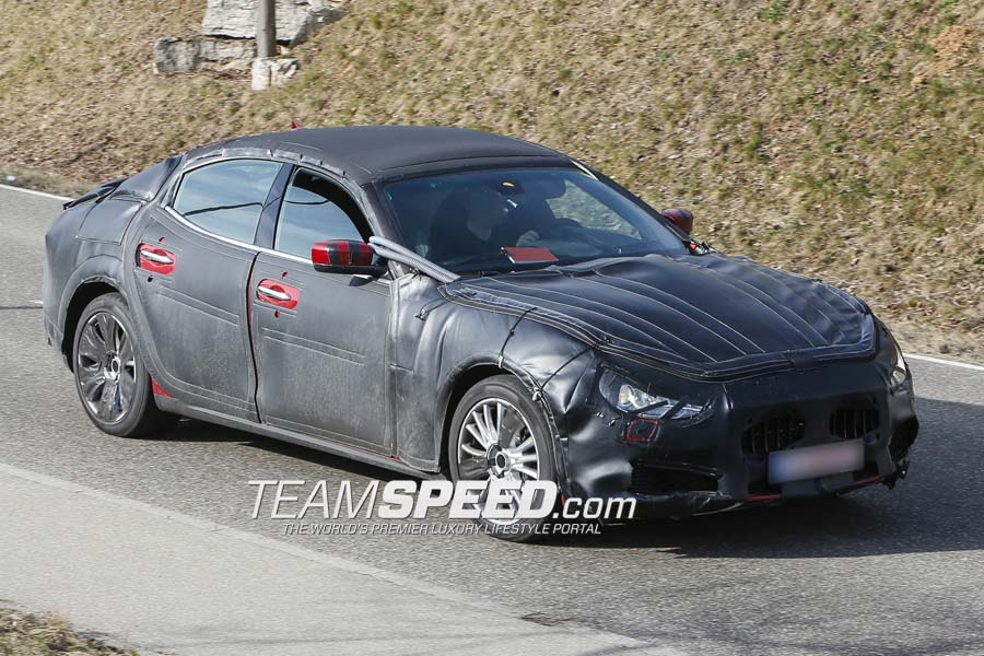 Spyshots: Baby Maserati Ghibli Snapped in Germany