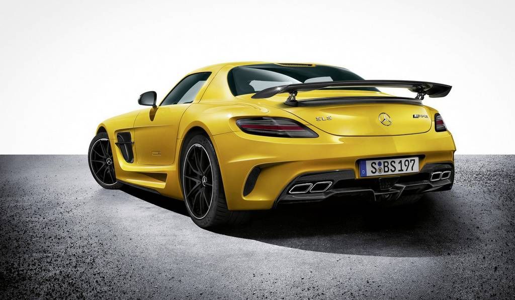 Mercedes-Benz SLS AMG Black Series Finally Priced