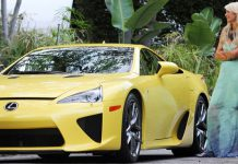 Paris Hilton is Paying $5603 a Month for Her Lexus LFA