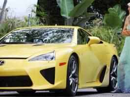Paris Hilton is Paying $5603 a Month for Her Lexus LFA
