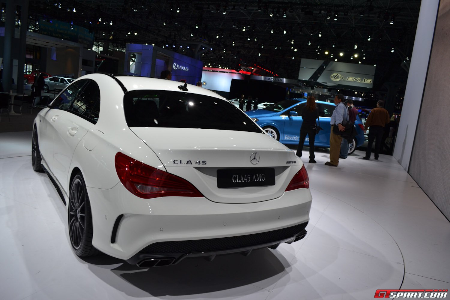 All Types 2013 mercedes cla : New York 2013: Mercedes-Benz CLA 45 AMG - GTspirit