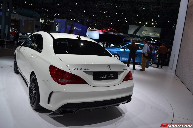 New York 2013: Mercedes-Benz CLA 45 AMG
