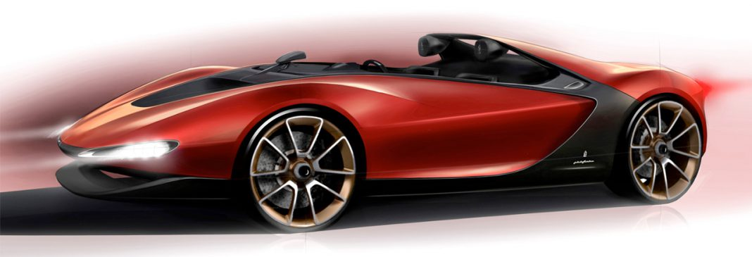 Pininfarina Sergio Concept Web Debut