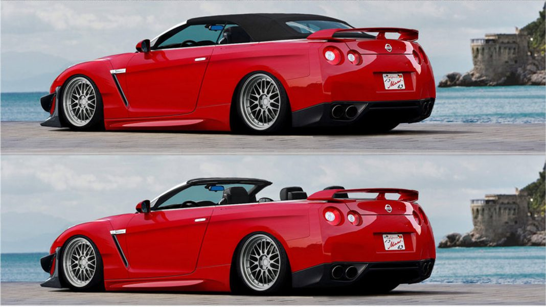 Render: Nissan GT-R Convertible Which Will Never Happen