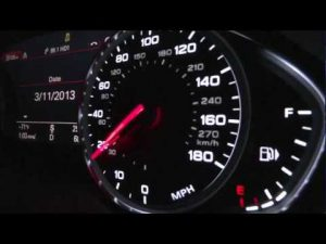 Video Watch An Audi A8 Hit 100km H In Just 3 8 Seconds