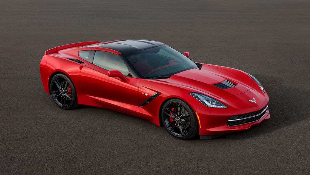 2014 Chevrolet Corvette Stingray Order Guide Leaks Online