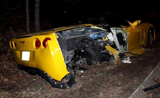 Corvette C6 Crash