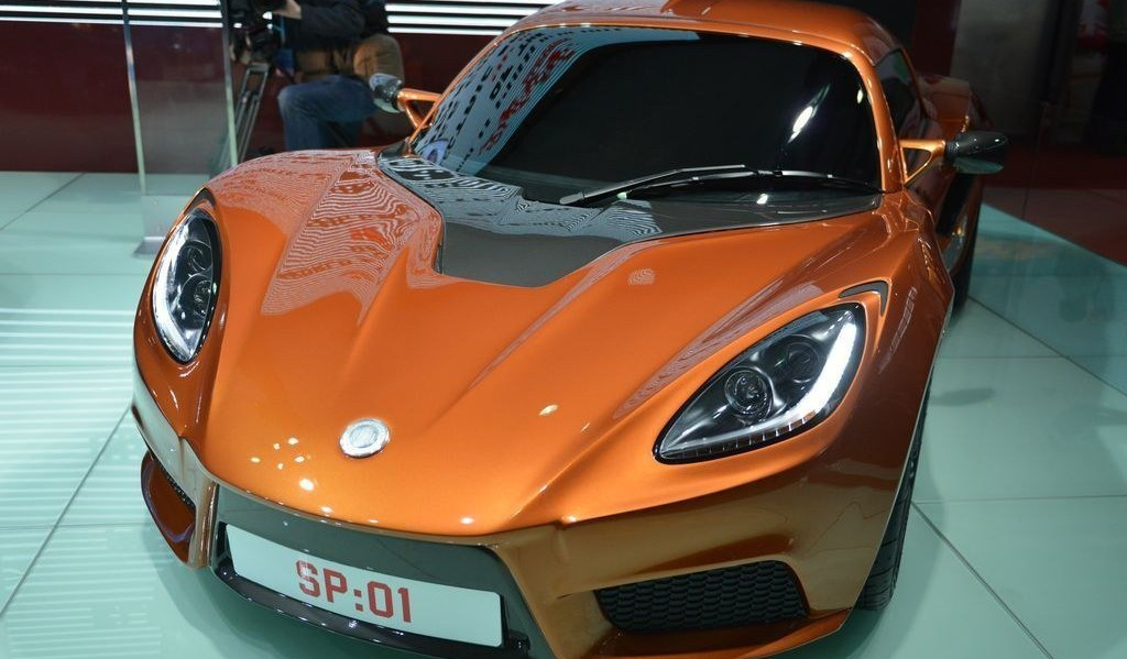 Detroit Electric SP:01 in Shanghai