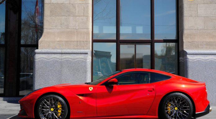 Ferrari F12 Berlinetta at Hungaroring