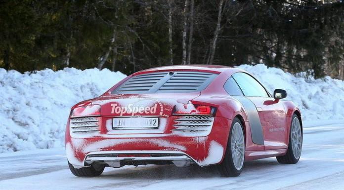 Spyshots: Defunct Audi R8 E-tron Caught Winter Testing