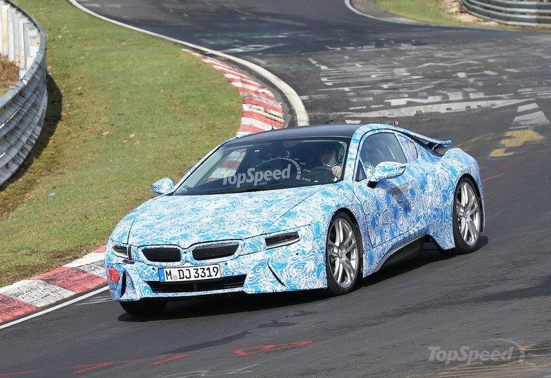 Spyshots: BMW i8 Hybrid Prototype Spotted at the Nurburgring