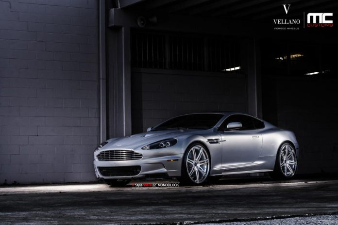 Aston Martin DBS With Vellano VM10 Monoblock Wheels
