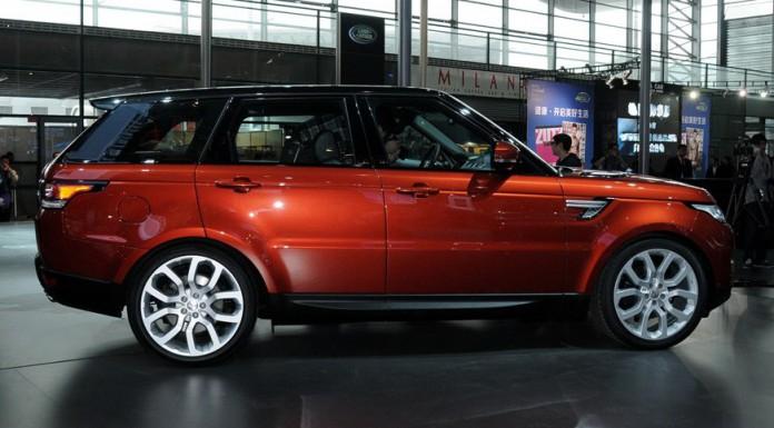 Range Rover Sport at Shanghai