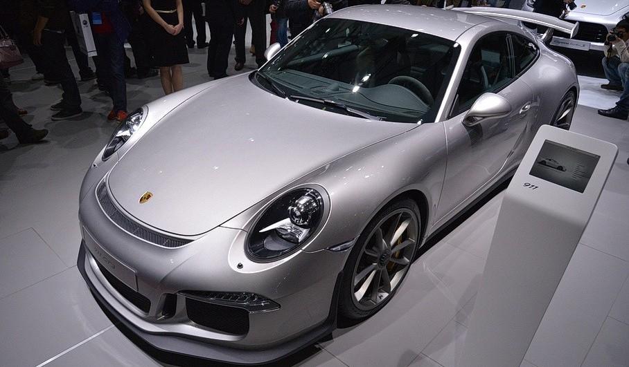 Porsche 991 GT3 at Shanghai