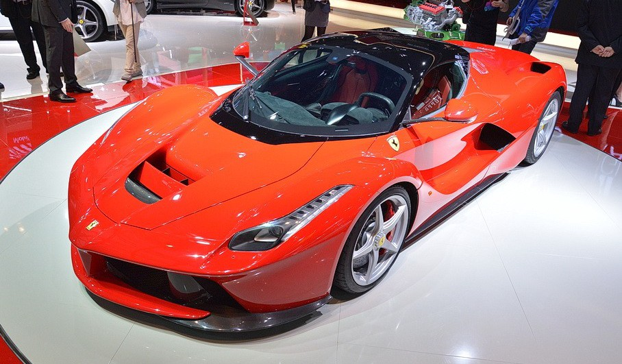 LaFerrari at Shanghai Auto Show 2013