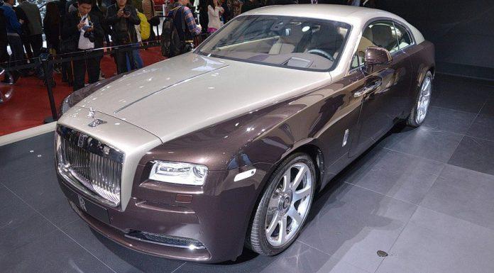 Rolls-Royce Wraith at Shanghai