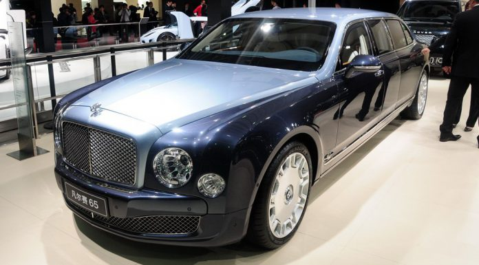 Armoured Bentley Mulssane Limousine by Carat