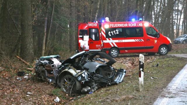 Ferrari 430 Scuderia Wreck