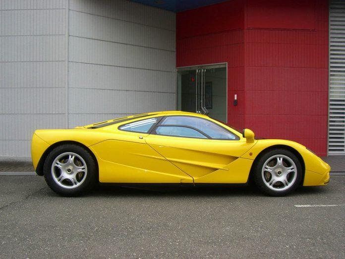 For Sale: Yellow McLaren F1 With Zero Miles