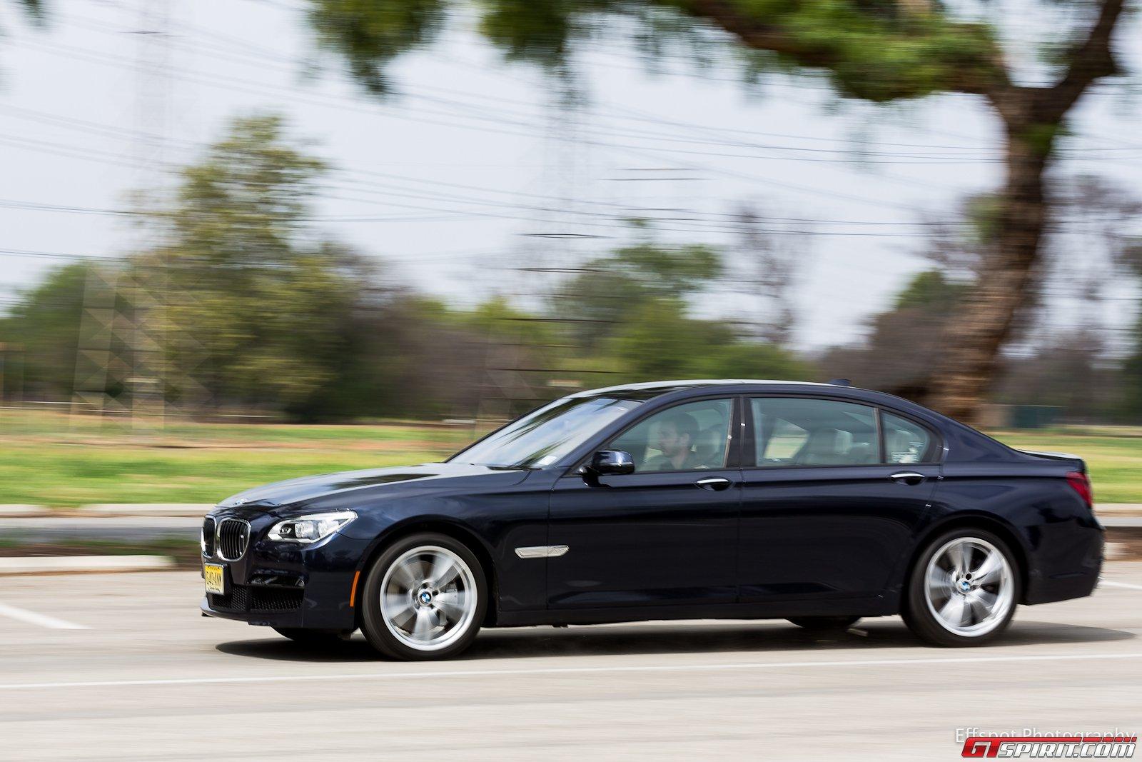 Video V12 Powered BMW 760Li Road Test