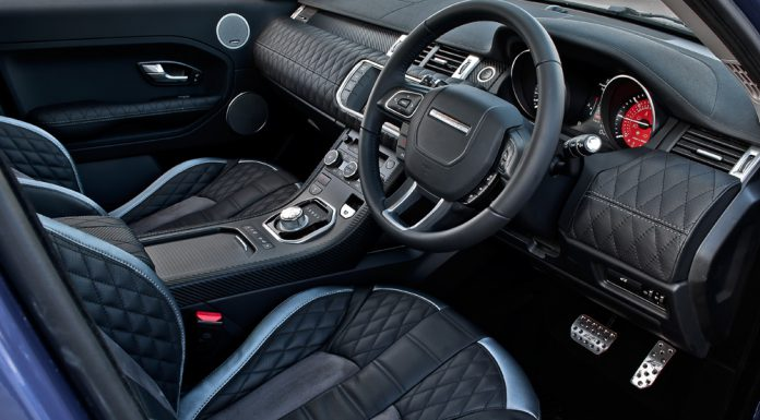 Interior Range Rover Evoque RS250