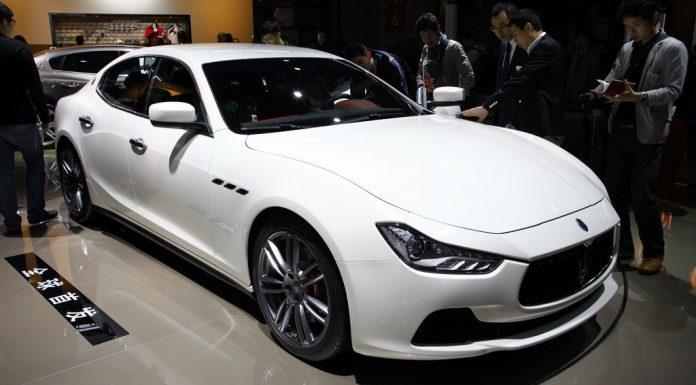 Maserati Ghibli in Shanghai