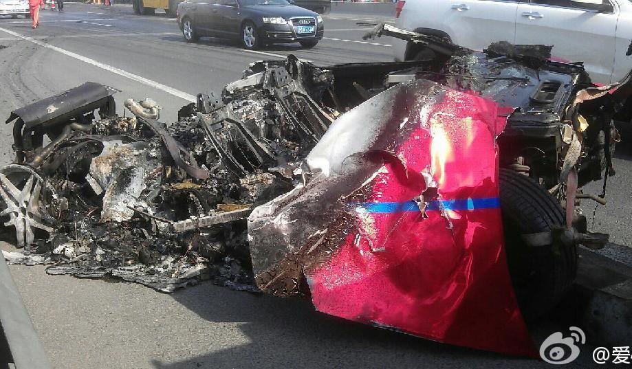 Brutal Ferrari F430 Accident in China