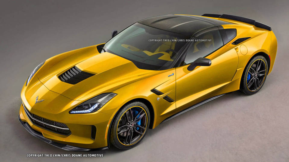 Render: 2015 Chevrolet Corvette Stingray ZR1 by Theophilus Chin