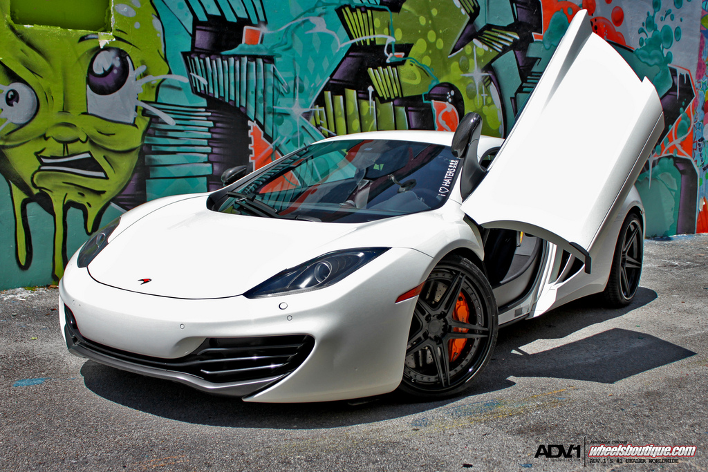 Gallery: McLaren MP4-12C on ADV05 SL's by Wheels Boutique