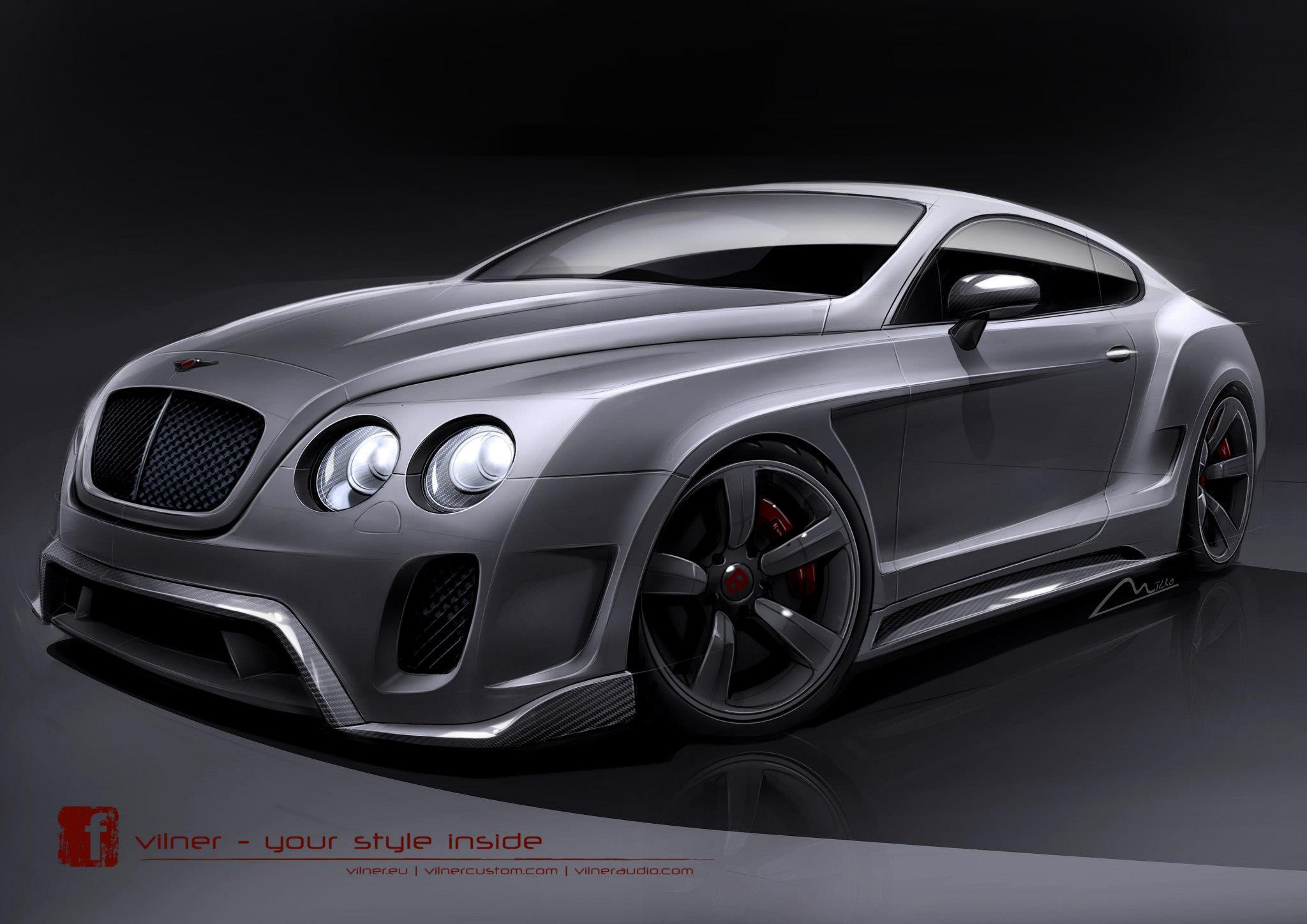 Vilner Developing Bentley Continental GT Bodykit - GTspirit